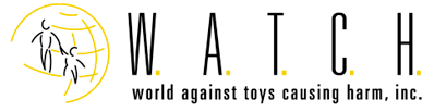 World Against Toys Causing Harm, Inc. (W.A.T.C.H.) Retina Logo