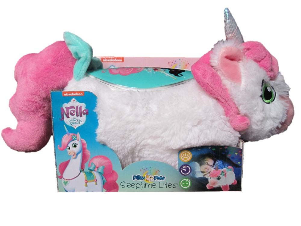 Toy 1 Nickelodeon Nella Princess Knight Pillow Pets Sleeptime